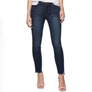 PAIGE Transcend Verdugo Ankle Skinny Barton Jean